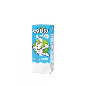 شیر پرچرب روزانه 200 سی سی