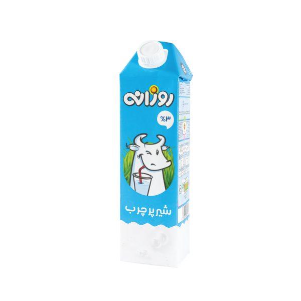 شیر پرچرب روزانه 1 لیتری