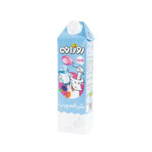 شیر کم چرب روزانه 1 لیتری