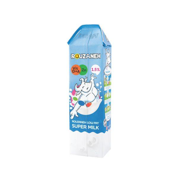 سوپر شیر کم چرب روزانه 1 لیتری